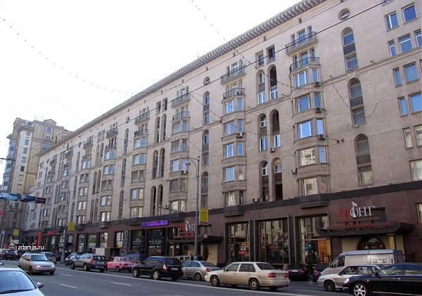 Дом, в котором жила Алла Пугачева