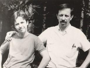 Андрей Губин и его отец