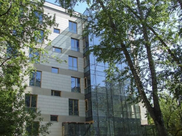 Дом, в котором расположена новая квартира Собчак