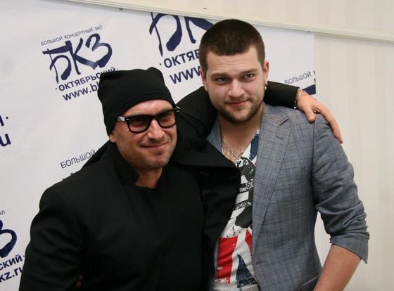 Дмитрий Нагиев и его сын