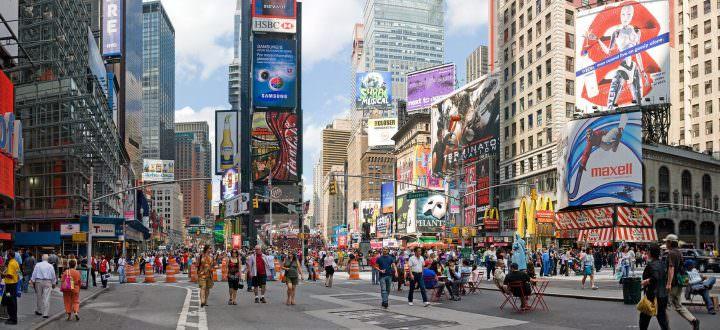 Люди в мегаполисе