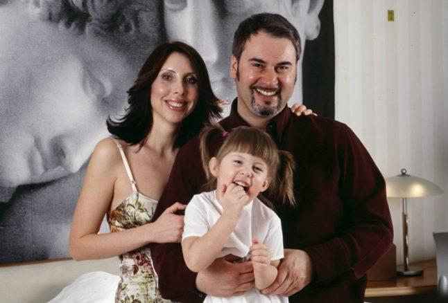 Валерий с женой Ириной и одной из дочерей