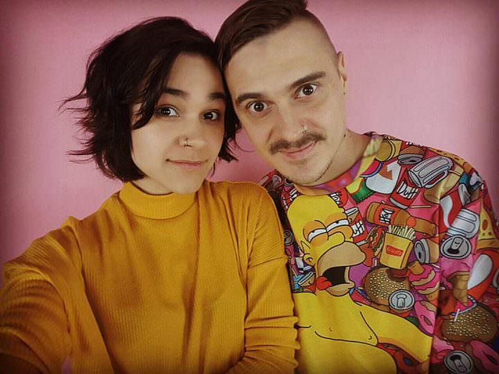 Ильич со своей девушкой Ириной Смелой