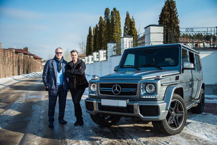 Автомобиль Валерия Меладзе