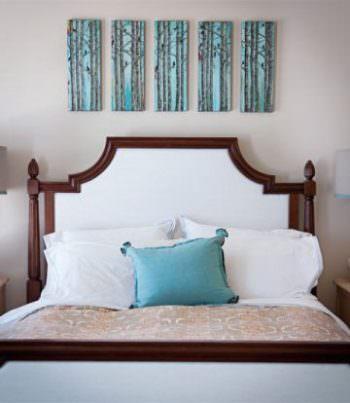 Модульная картина в спальню