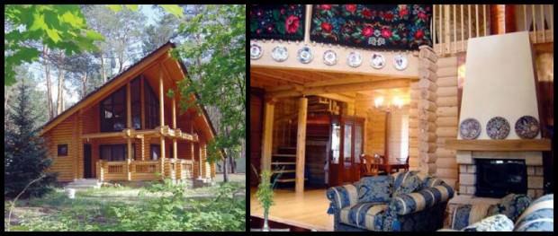 Дом Софии Ротару в Конче-Заспе