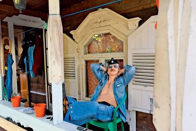 Боярский в своем доме под Питером
