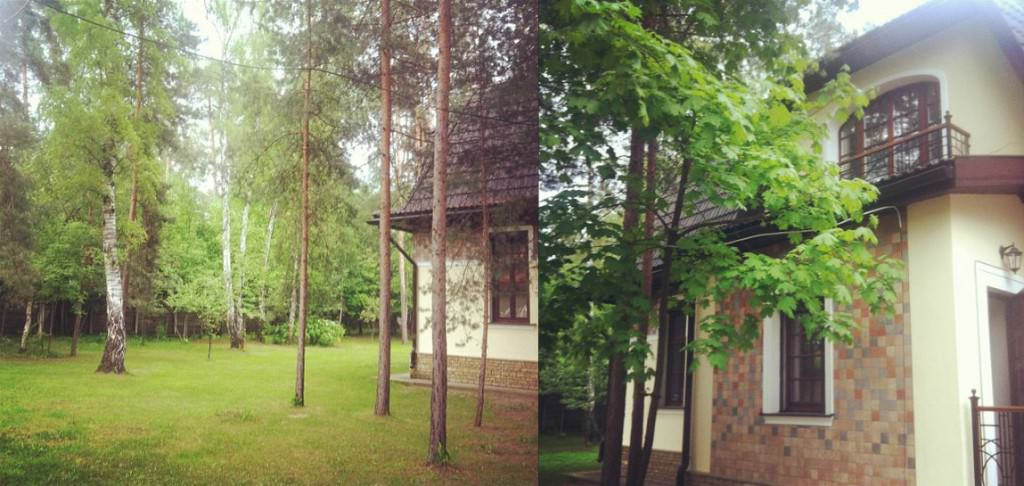 Коллаж дома Басты