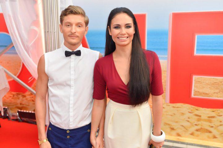 Павел Воля с женой