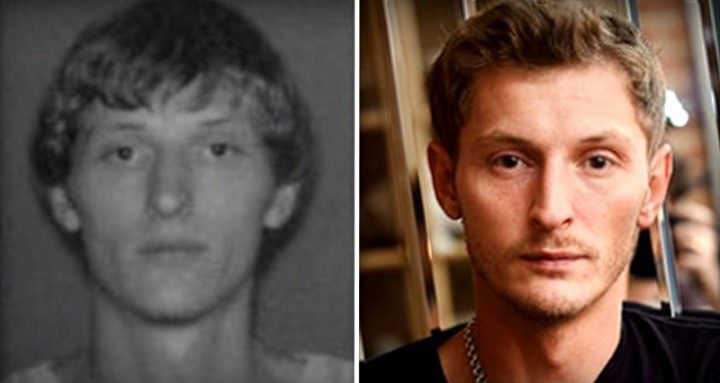 Павел Воля в молодости