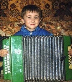 Эльдар Джарахов в детстве