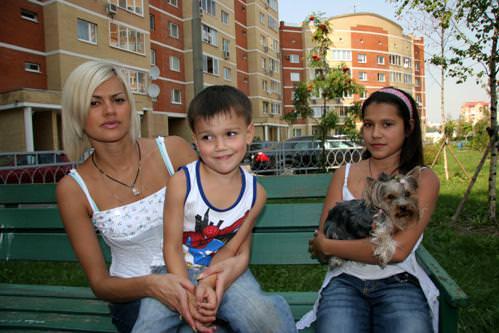 Ирина Круг с детьми