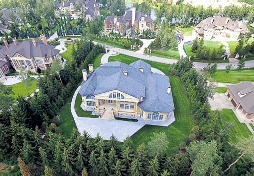 Дом Стаса Михайлова в Черногории