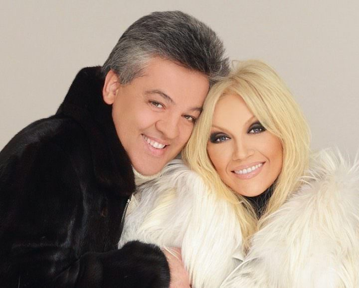 Таисия Повалий с мужем