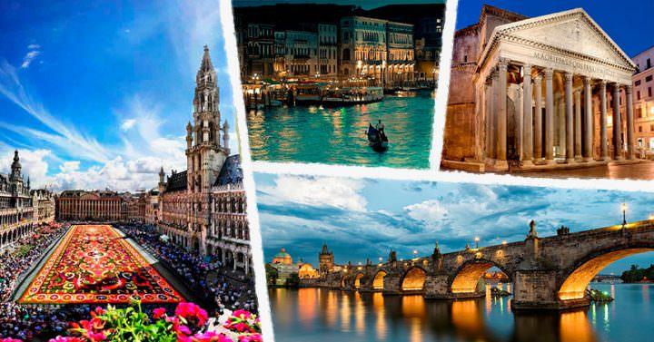 Самые красивые города Европы