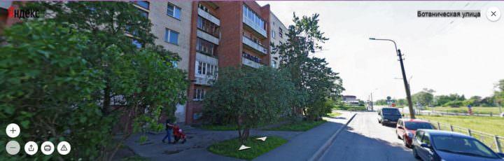 Санкт-Петербург ул. Ботаническая 20