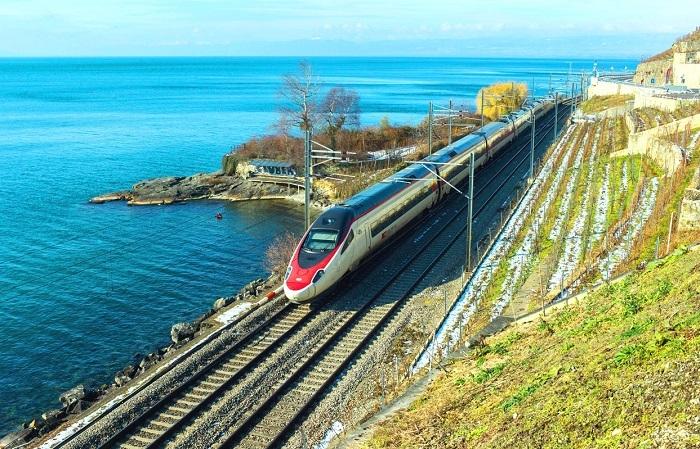 высокоскоростные железнодорожные магистрали Италии