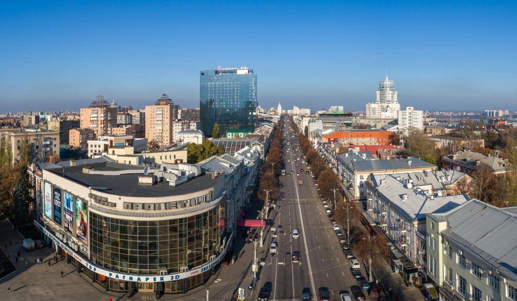 Проспект в Воронеже