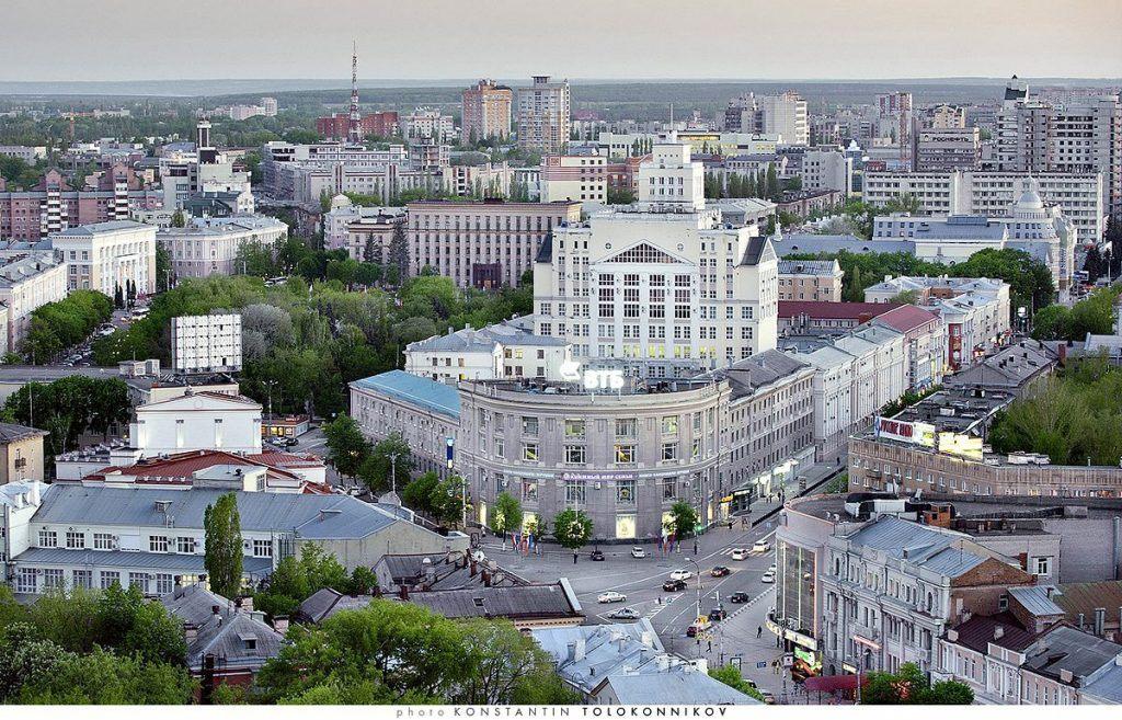 Фото улицы в Воронеже