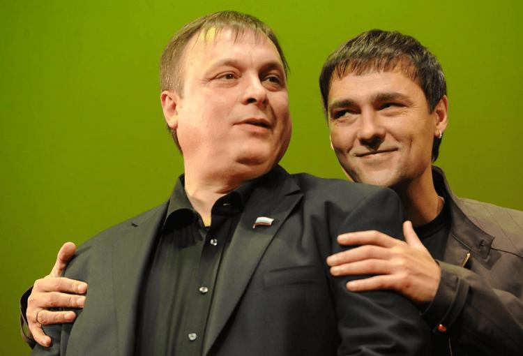 Андрей Разин и Шатунов